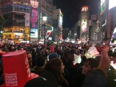 NYE in Shibuya