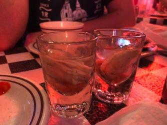 Shottino all'ostrica? Oyster vodka anyone?