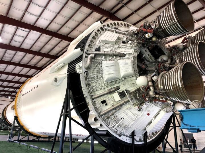 Saturn V inside