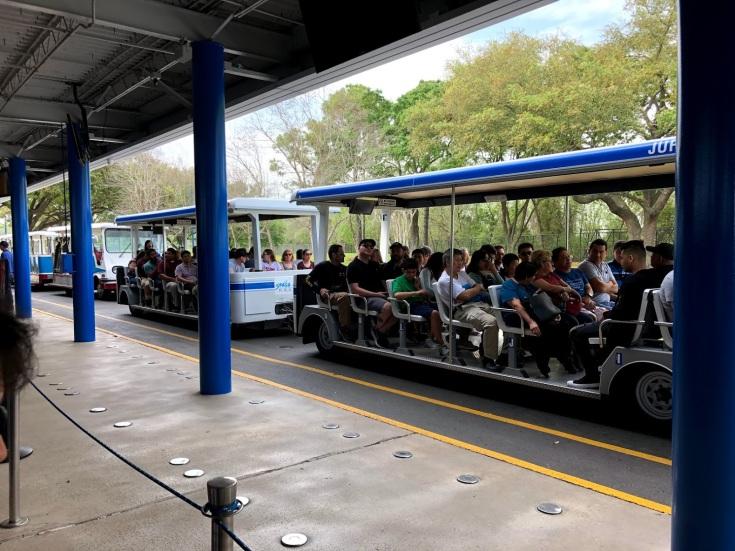 Tram tour Nasa
