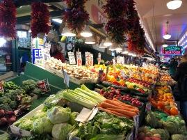 Colori e verdure locali
