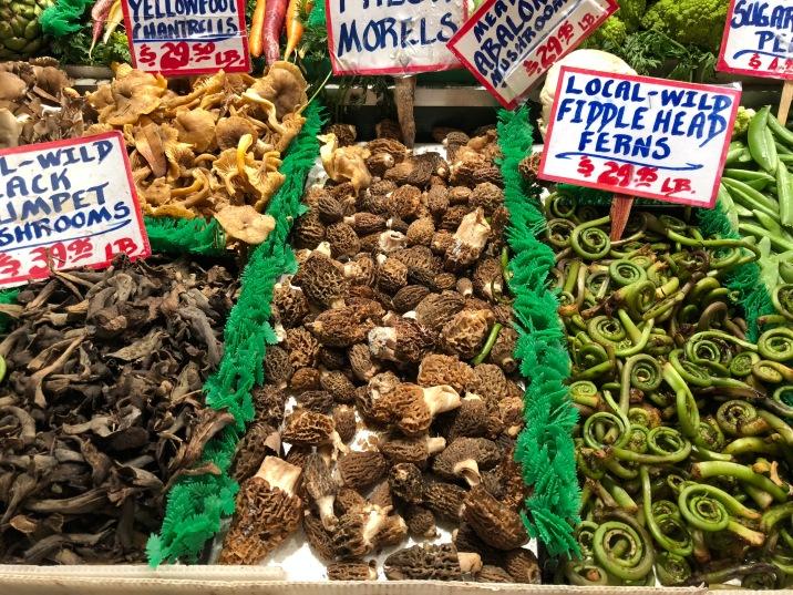 Mushrooms, Pike Place market