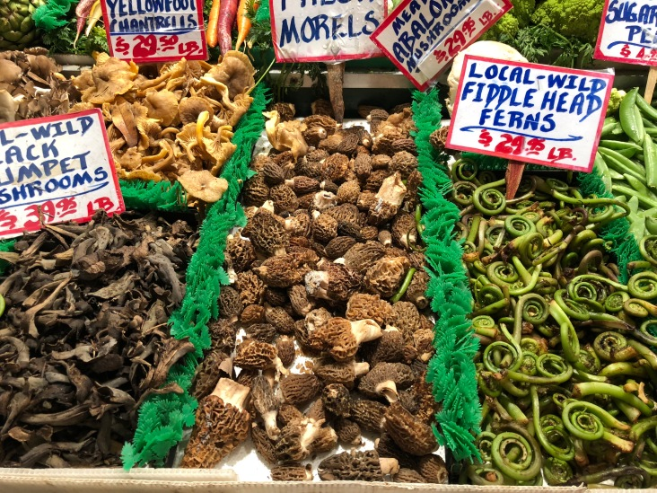 Mushrooms, Pike Place market