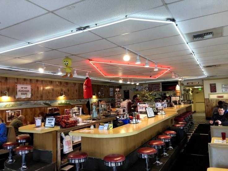 Twede's cafe - Interno