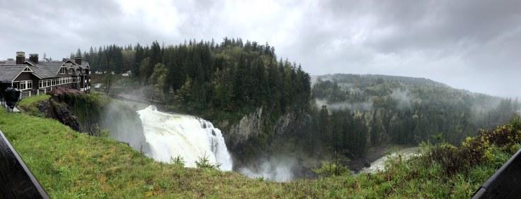 Panoramic picture - Snoqualmie Falls