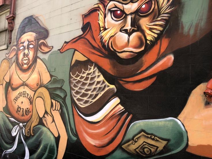 Chinatown - Murales