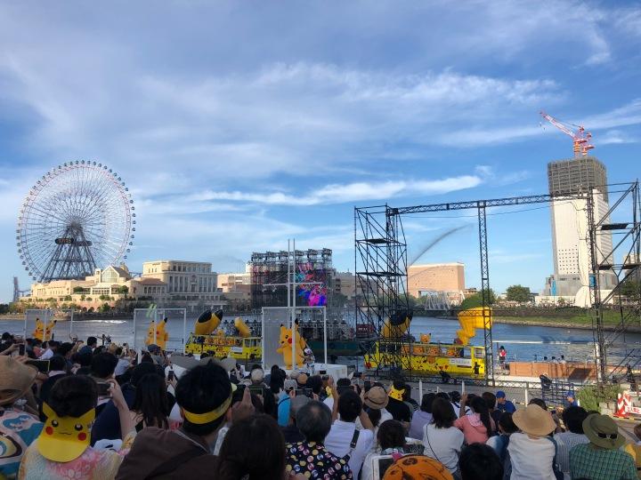 Pikachu Outbreak - Yokohama