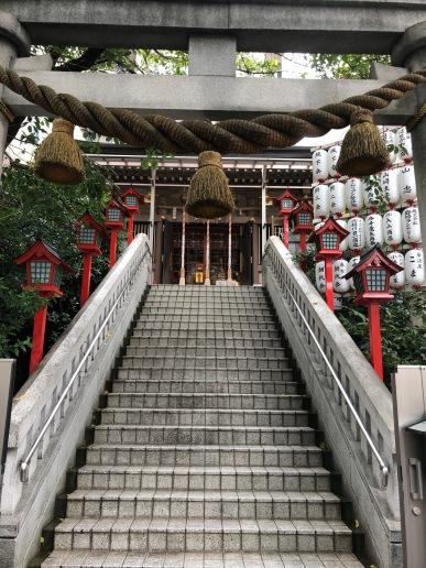 Temple in Azabujuban