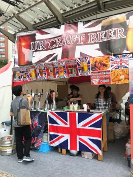 Craft beers at The Great British Weekend