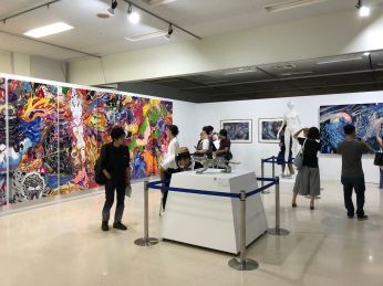 Yoshitaka Amano exhibition, Sunshine City, Ikebukuro