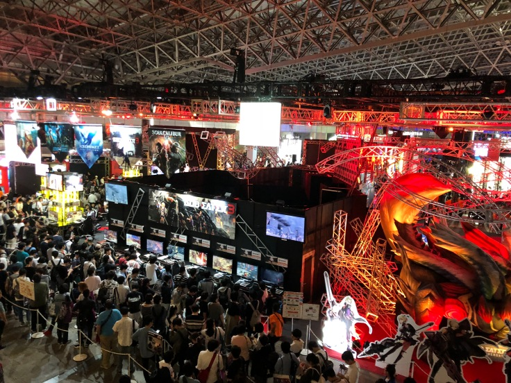 Crowds of Tokyo Game Show