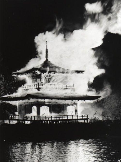 Immagini dell'incendio del 1950