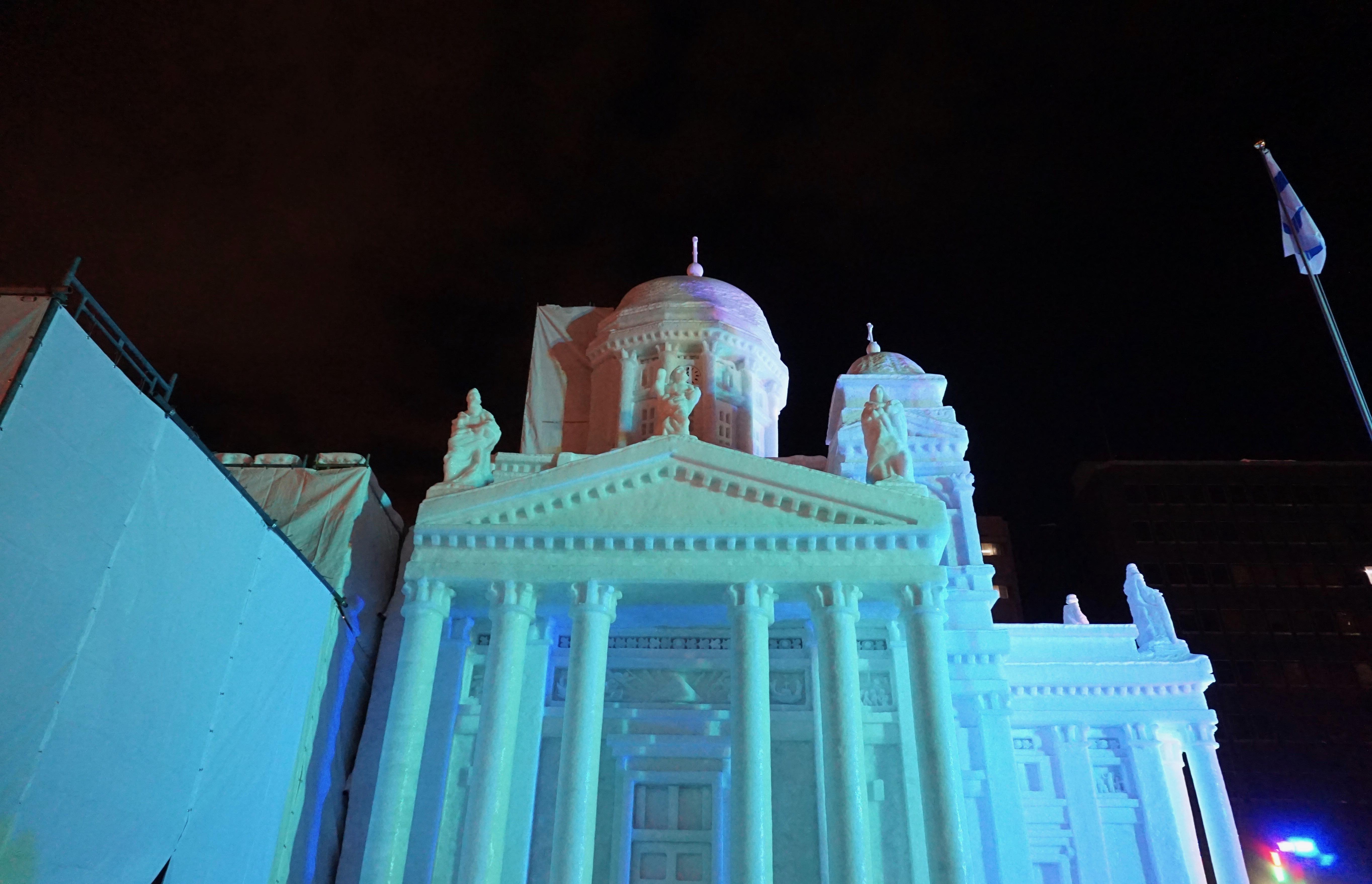 Helsinki cathedral detail